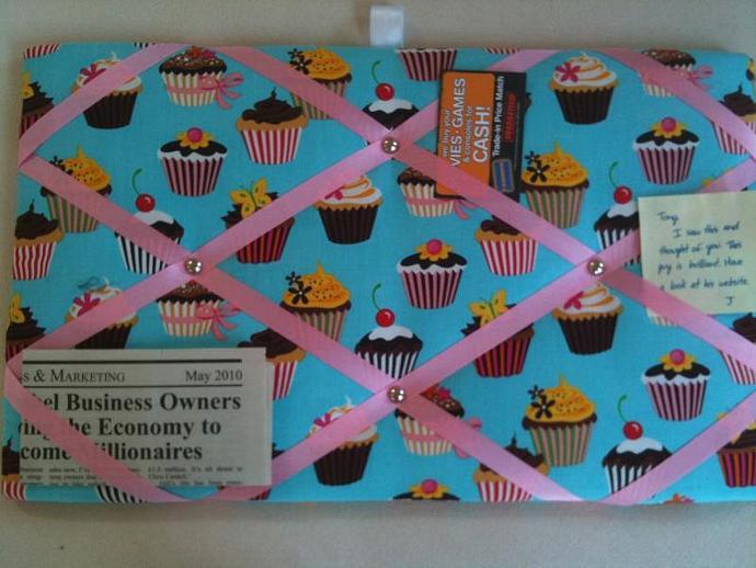 Pin Board/ Notice Board/ Memo Board/ Chocolate Fairy Cakes