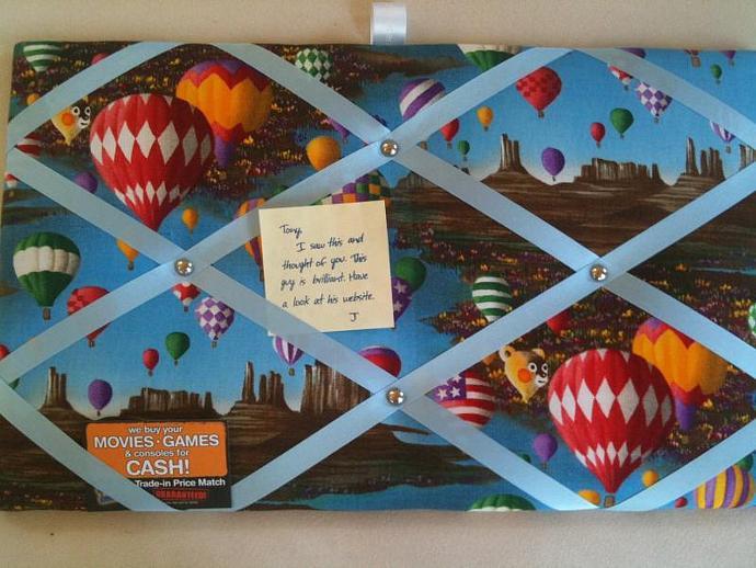 Pin Board/ Notice Board/ Memo Board/ Fantasy Balloon Flight