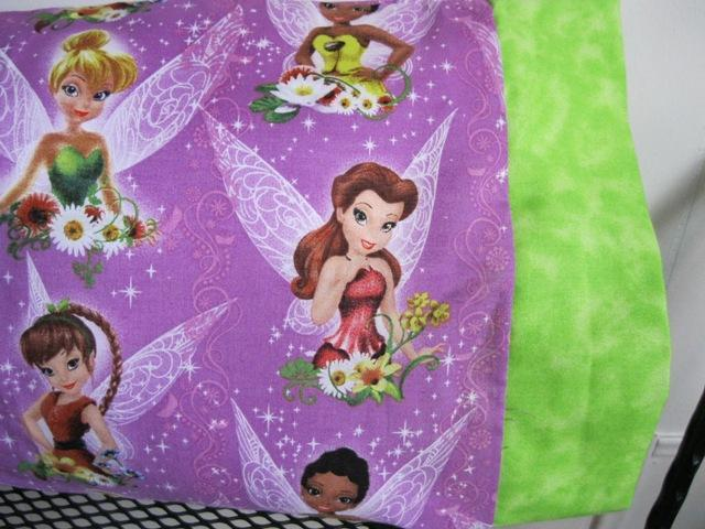 NEW Tinkerbell and her Friends MINI Pillowcase kids/travel pillowcase