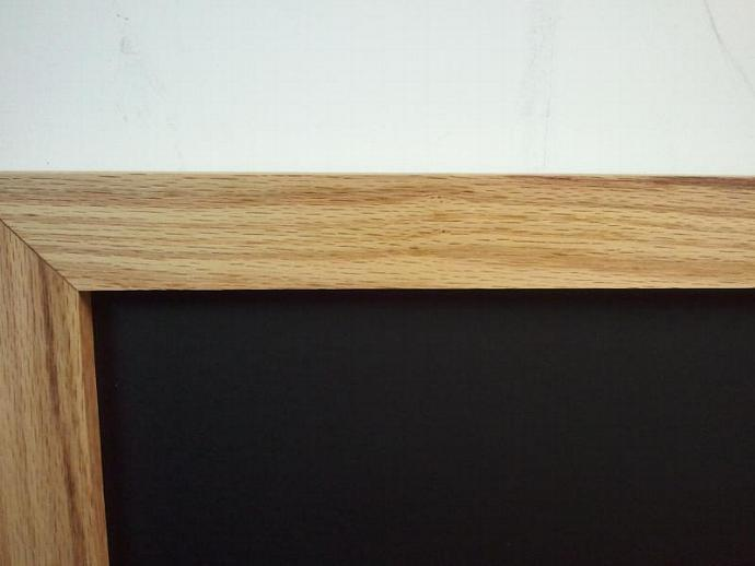 Solid Oak Chalk Board with Chalk Tray