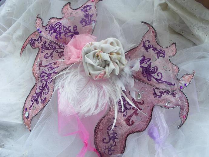 Custom designed fairy wings