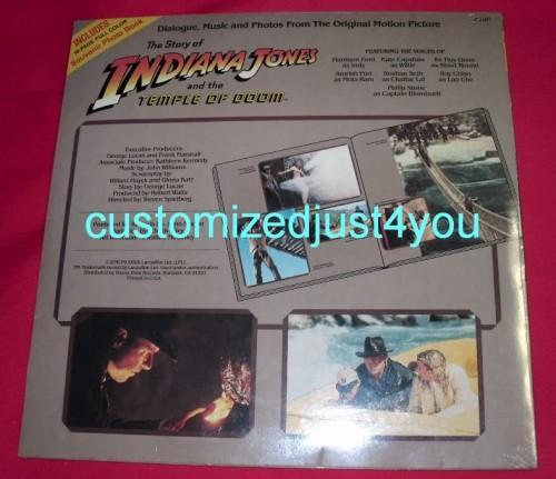 Indiana Jones and the Temple of Doom LP Factory sealed