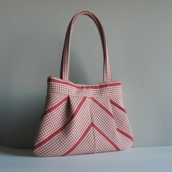 sisoi charming bag in red and cream