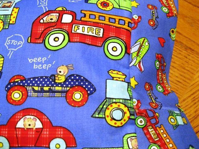 NEW Fire Truck and More MINI Pillowcase kids/travel pillowcase