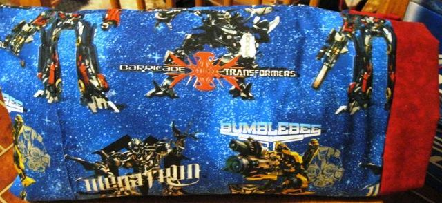 NEW TRANSFORMERS MINI Pillowcase kids/travel pillowcase