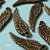 40 pcs of Tibetan Antique Bronze Angel Wing Charm