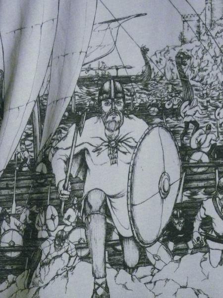 Men's Organic Viking Raid Shirt