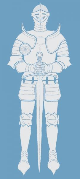 Organic Armor-Clad Knight for Toddlers