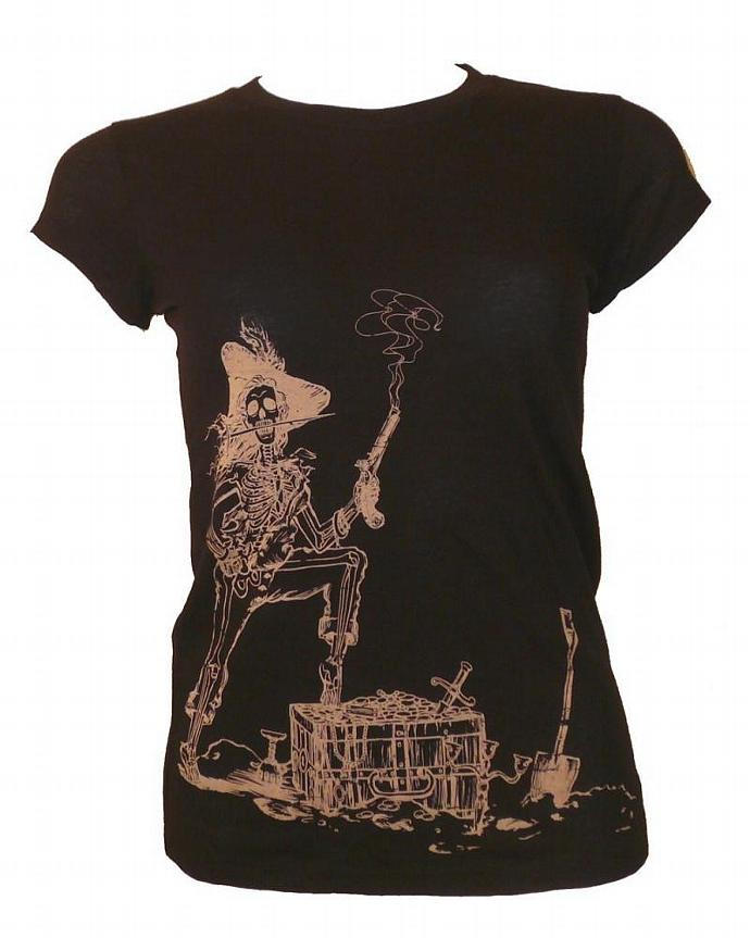 Women's Black Pirate Tee