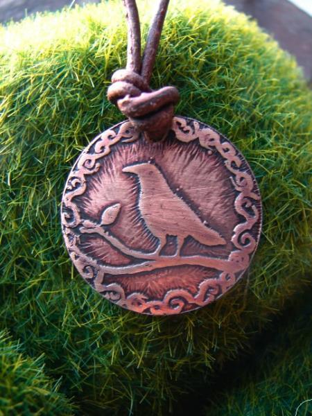 Crow Necklace Pendant