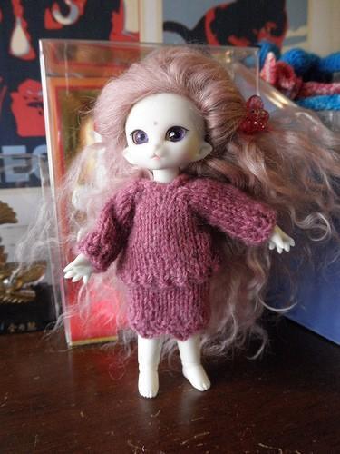 Puki Dress Suit pink Cashmere