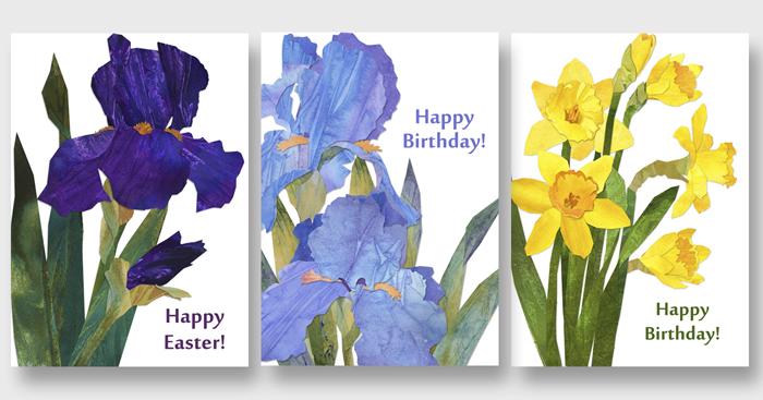 Original zibbet 3 floral cards