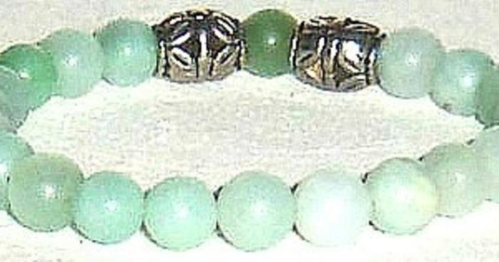 Original amazonit bracelet very cropped